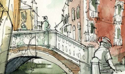 Lebendiges Urban Sketching